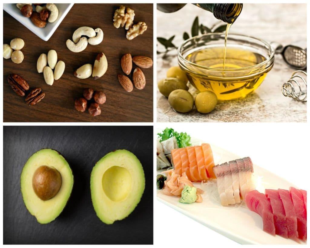 Nutrición deportiva, macronutrientes, grasas
