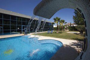 Hotel Finca Eslava. Hotel para ciclistas Bikefriendly -piscina