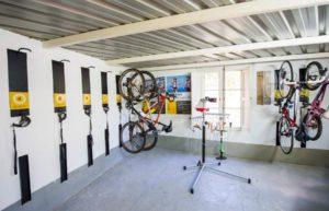Guardabicis en hoteles para ciclistas, bikefriendly