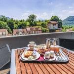 Hotel para ciclista, hotel Enclave, Bikefriendly - terraza suite