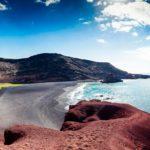 Laguna verde Lanzarote. Viajes en bici Bikefriendly