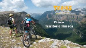 Huesca Territorio Bikefriendly. Tracks en Pirineos