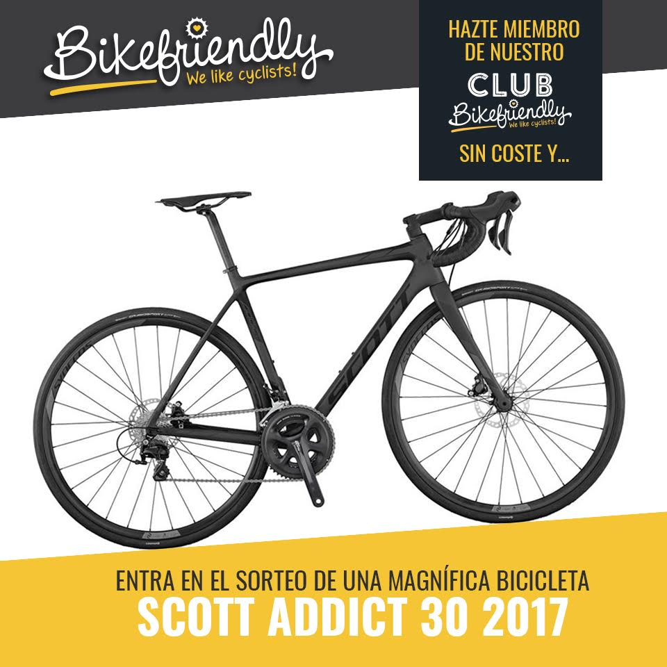 Celebramos la Navidad… sorteando una Scott Addict 30