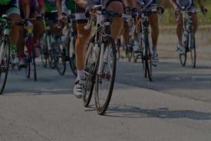 Grupo de ciclistas. Bikefriendly