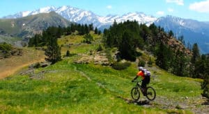The Monte Perdido route. Bikefriendly BTT tours - cycling