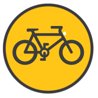 Bikefriendly tours icon