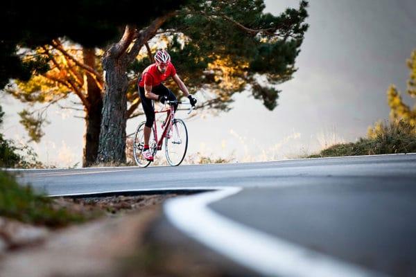 Road cycling. Antonio del Pino