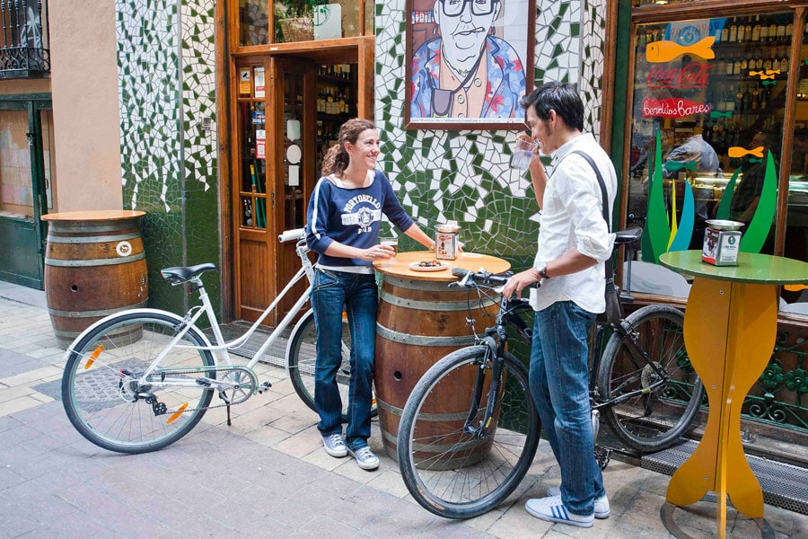 Bikefriendly pub