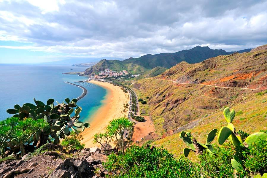 Norte de Tenerife, viajes en bici y hoteles para ciclistas- costa