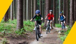 Proyectos solidarios bikefriendly, familia