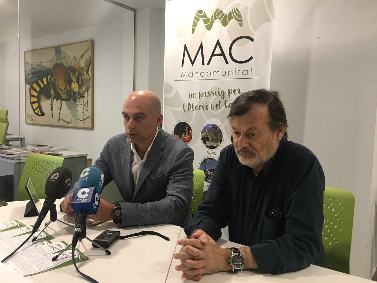 La Mancomunitat L'Alcoia i el Comtat presenta su Plan Estratégico de Cicloturismo