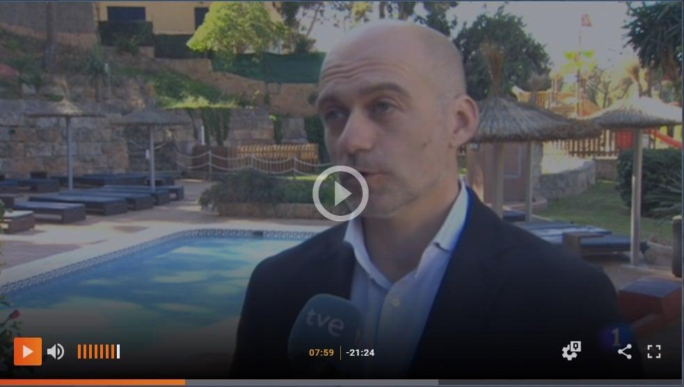 Raúl Villacampa, presidente de Bikefriendly, sobre el cicloturismo en Baleares en TVE