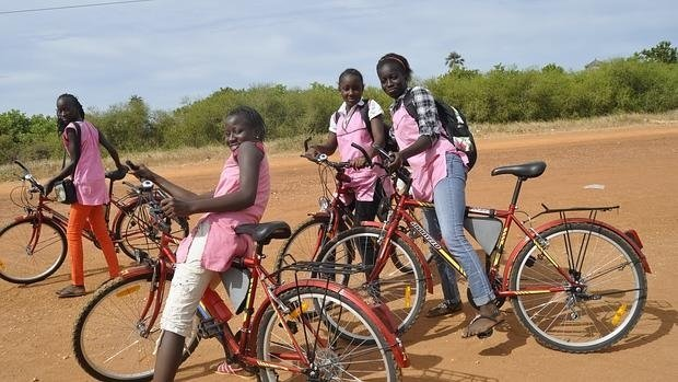 ! Un Hangar Bikefriendly en Senegal ¡