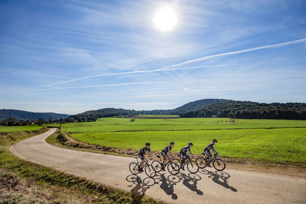 Cycling tour in Spain