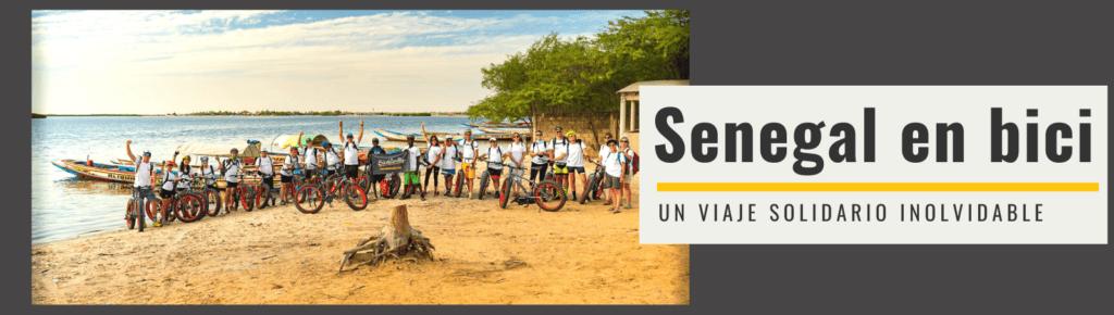 Grupo del viaje en bici a Senegal de Bikefriendly y Bicicletas sin Fronteras