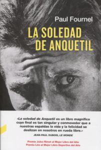 Portada del libro sobre ciclismo La Soledad de Anquetil