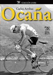 Portada del libro sobre ciclismo Ocaña