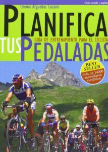 Portada del libro sobre entrenamiento ciclista Planifica tus pedaladas