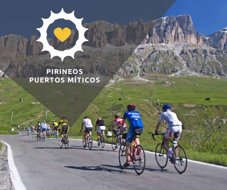 Viaje bici carretera Pirineos Puertos Míticos