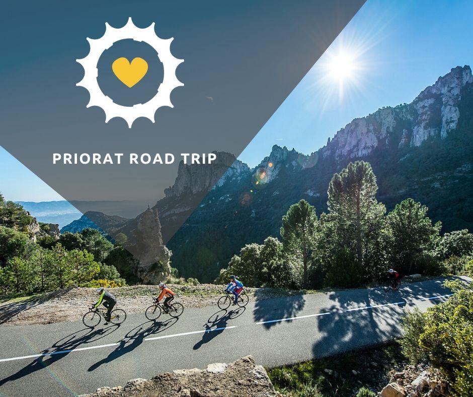 Viaje bici carretera Priorat Road Trip