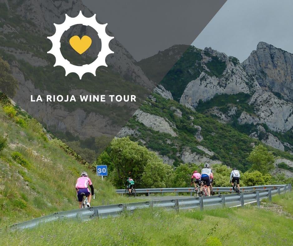 Viaje bici carretera La Rioja Wine Tour