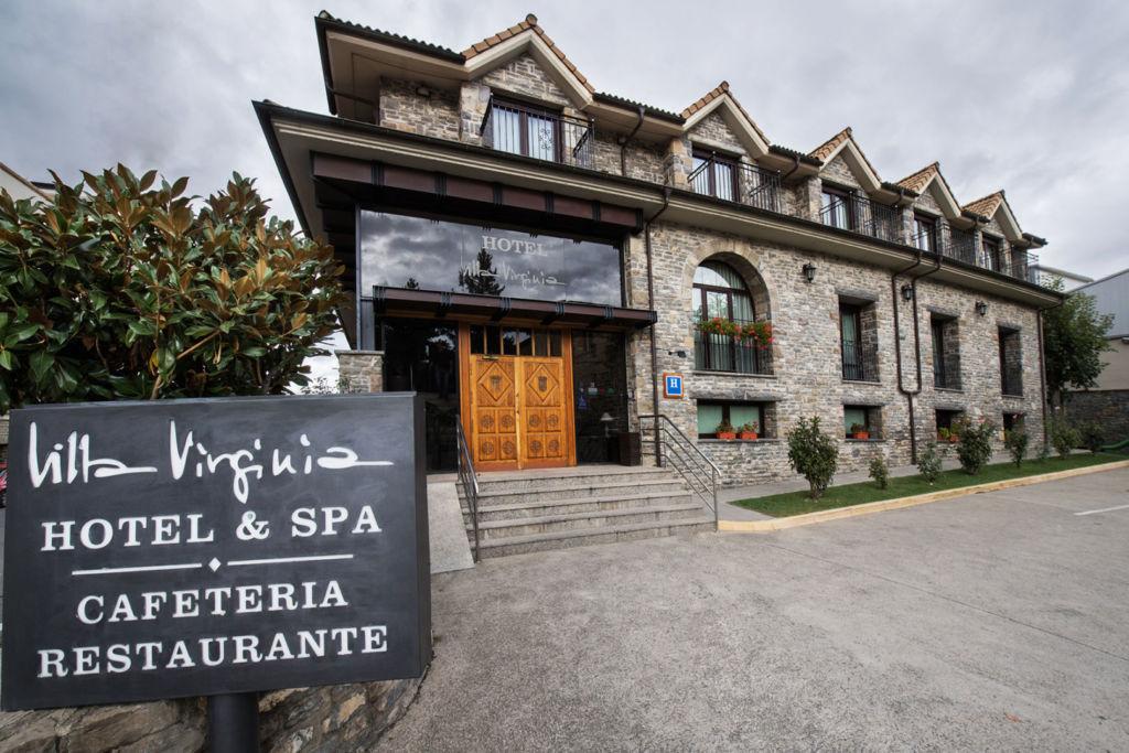 Hotel Villa Virginia en Sabiñánigo - Bikefriendly