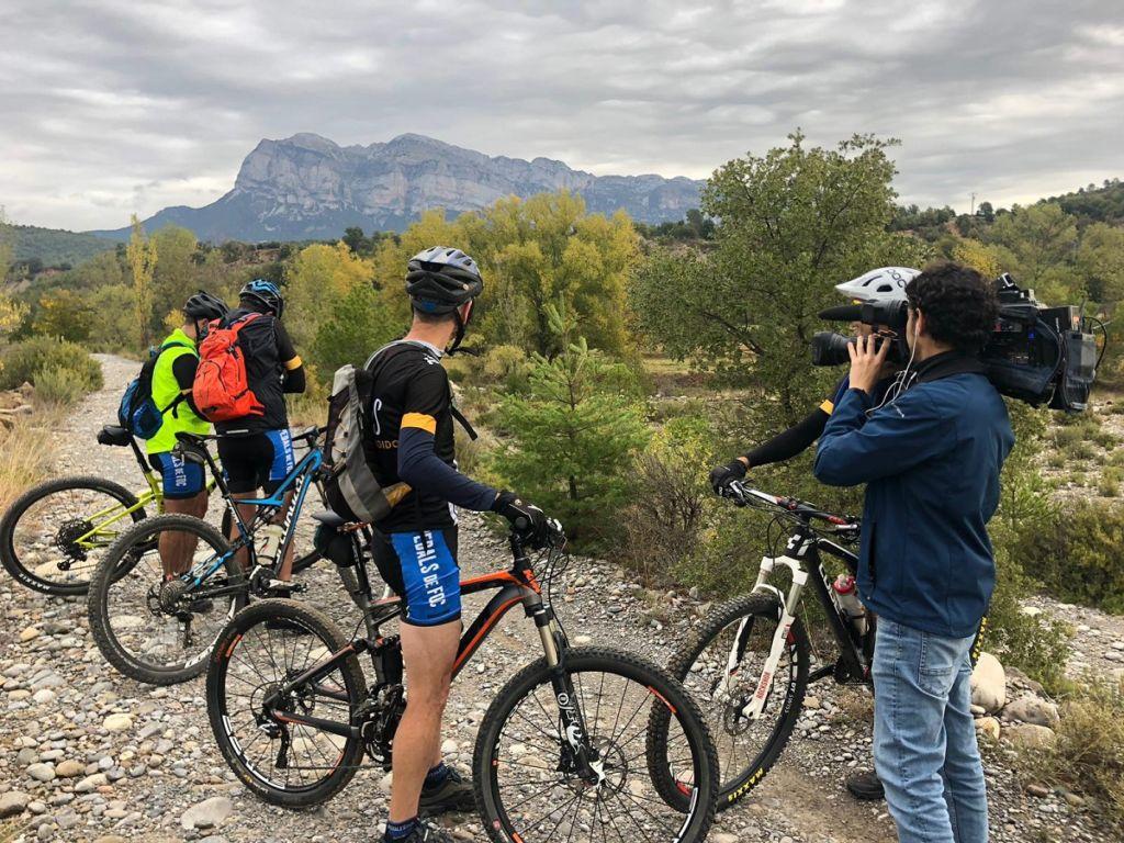 Reportaje TV rutas cicloturismo