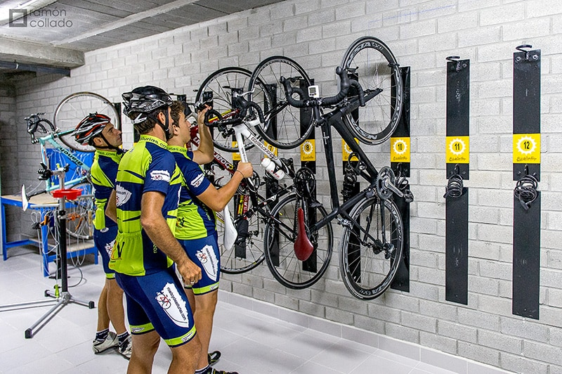 Alojamiento con sello de calidad Bikefriendly especializado en cicloturismo