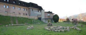 Terraza del Abaraxka Azkoitia Hostel