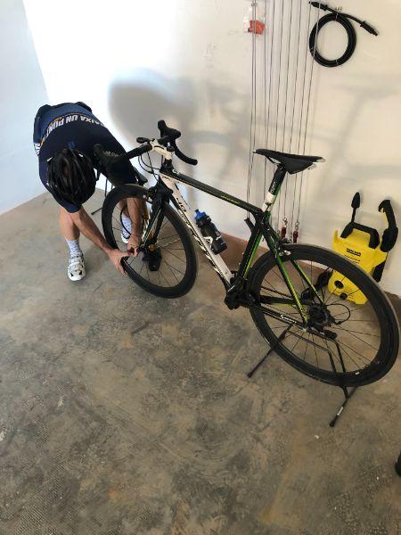 Zona Bikefriendly del Hotel Santa Marta