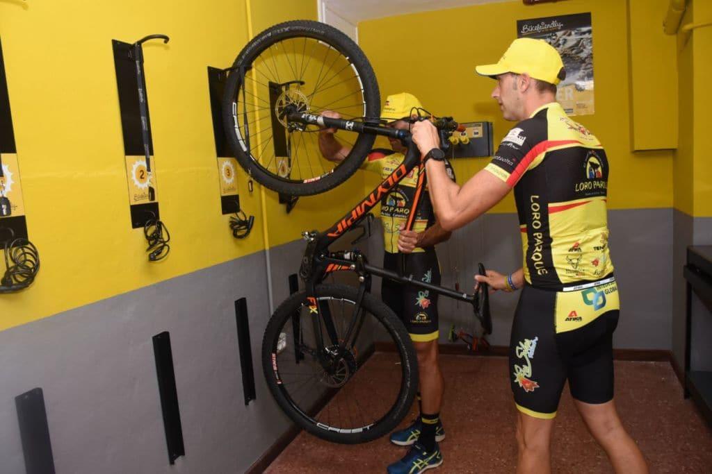 El Hotel Botánico de Santa Cruz de Tenerife cuenta con zona Bikefriendly