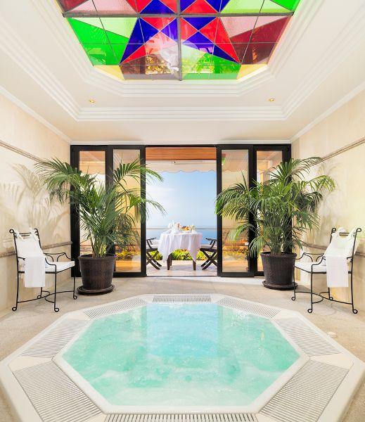 El spa es uno de los mayores atractivos del Hotel Botánico, en Santa Cruz de Tenerife