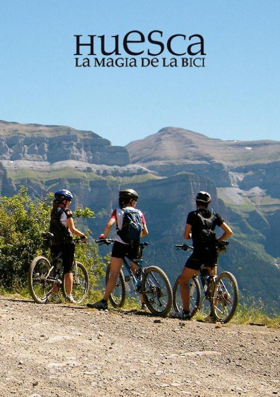 Banner Huesca La Magia de la Bici
