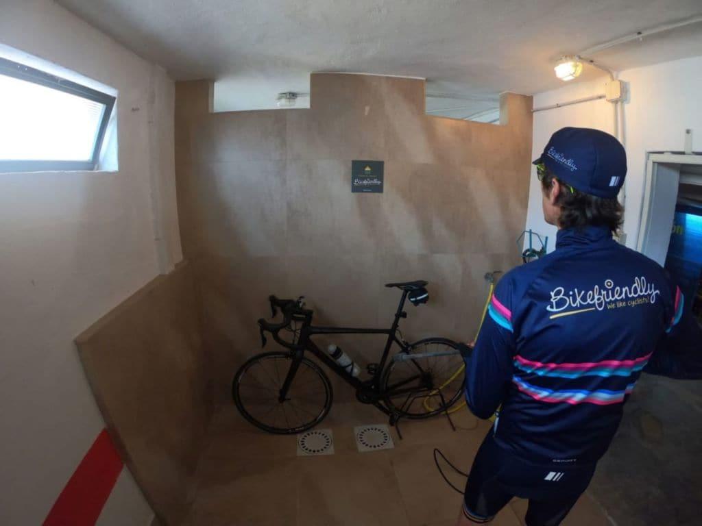 Espacio Bikefriendly del Hotel Golf Playa Castellón