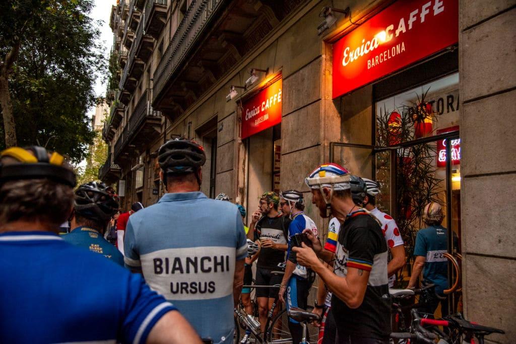 Fachada del Eroica Caffè Barcelona
