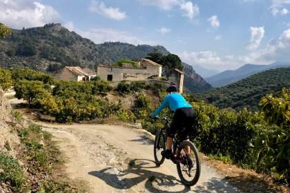 VALLE DE LECRÍN bici alqueria de los lentos