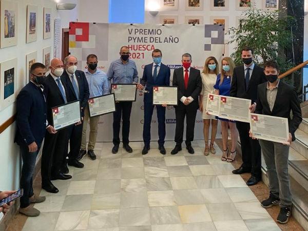 V Premio Pyme del Año Huesca 2021