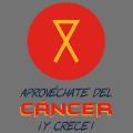 Logo de la asociación Aprovéchate del cáncer