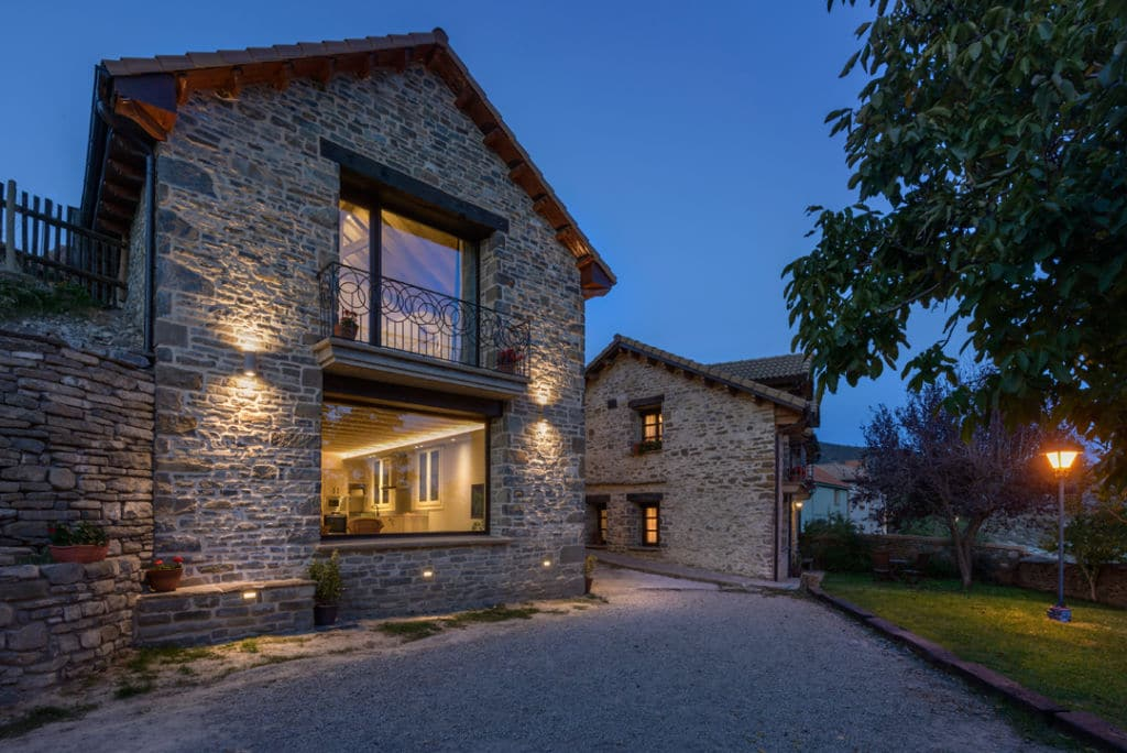 Hotel para ciclistas en Espuéndolas, Huesca - Turismo Rural Os Ormos